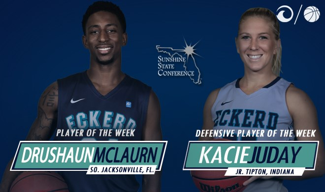 Mclaurn Juday Earn Weekly Sunshine State Conference Honors