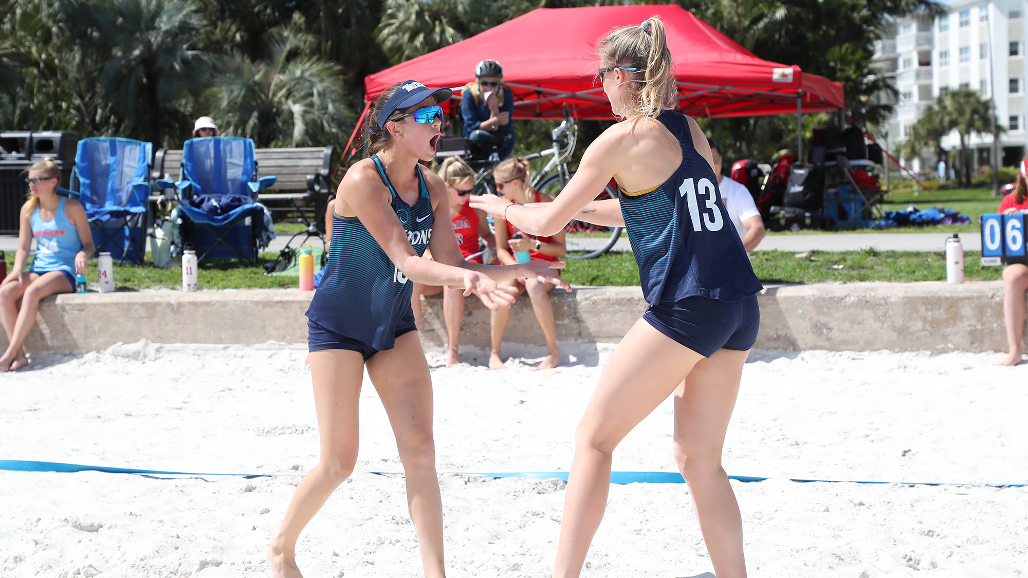 Tritons Top Florida Southern Split On Opening Day Eckerd College Athletics